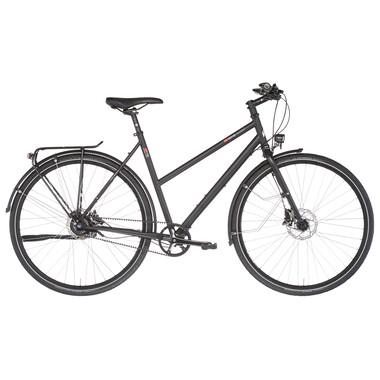 Vélo de Voyage VSF FAHRRADMANUFAKTUR T-700 TRAPEZ Shimano Alfine 11 Gates / Disques Shimano Deore Noir 2021